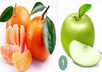 Яблука і цитрусові